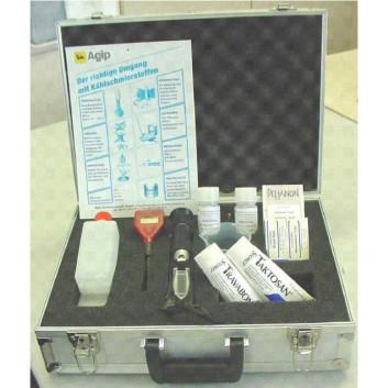 Alu-Meßkoffer Set für Kühlschmierstoffe