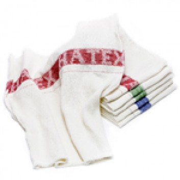 Miettextil Maschinenputztücher Rot