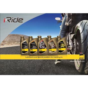 ENI i-ride Moto 15W 50 - 1 l Kanne